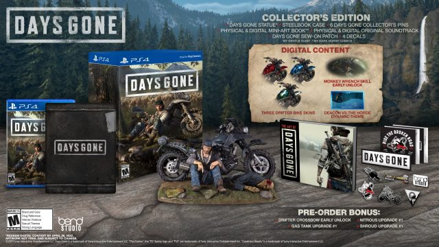 Days Gone CE Full Contents
