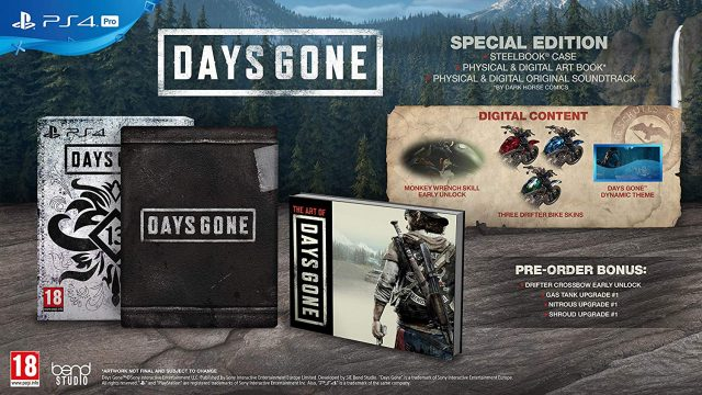 Days Gone SE Full Contents