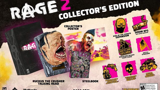 Rage 2 CE Full Contents